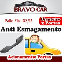 Kit Vidro Elétrico Palio Fire Economy 2 Portas Anti Esmag