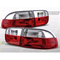 Lanterna Altezza Red Honda Civic 1996 1997 1998 O Par