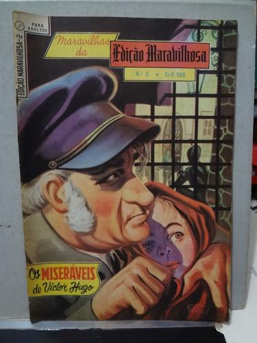 Gibi Edição Maravilhosa Nº 2 Os Miseraveis Victor Hugo 1967