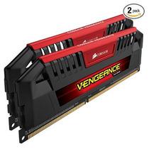 Memória Corsair Vengeance Pro 8gb ( 2x4gb ) 1600mhz C9 Red