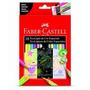 Lápis De Cor 18 Cores Neon Pastel Metalica Faber Castell