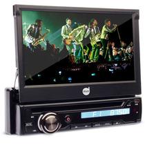 Dvd Retrátil Dazz 5220 Bt Tela 7 Touch Tv Cd Usb Sd Am Fm