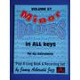 Livro - Minor Blues In All Keys - Jamey Aebersold - Vol. 57