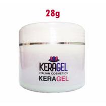 Keragel Gel Com Keratina E Cálcio 28g - Produto Italiano