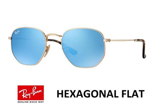 4faf5ee2d8bdc Ray Ban Hexagonal Flat 3548 Original Envio Em 24h +brinde. R  229