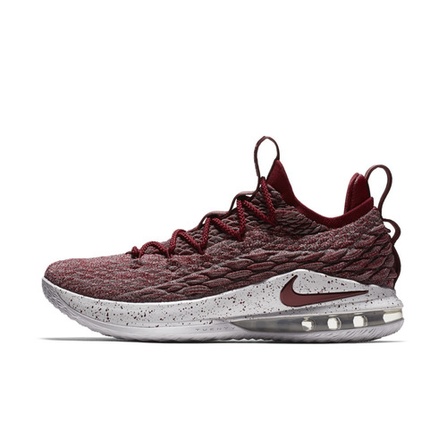 e830af5a044 Tênis Basquete Nike Lebron 15 Xv Low Masculino Vermelho Nba