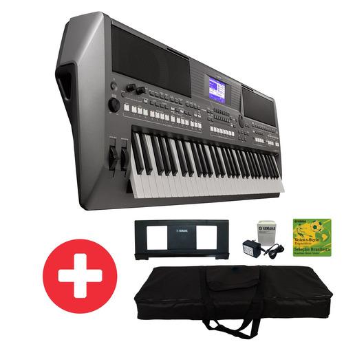 teclado yamaha psr s670 fonte ritmos brasileiros r. Black Bedroom Furniture Sets. Home Design Ideas