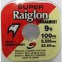 Linha Super Raiglon 0,50 Mm - Caixa C/ 1000 Metros