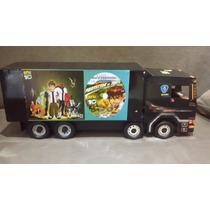 Caminhão De Madeira Truck (4 Eixos) Alta Qualidade (90cm)