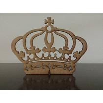 5 Coroas Mdf Com Base Decoração Lembrancinha Festa Provençal