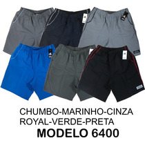 Shorts Masculino Microfibra P-m-g-gg-xgg-g1-g2-g3-g4