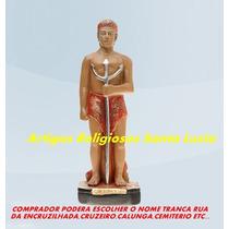 Escultura Exu Tranca Rua Linda Imagem 40cm Preço Fabrica Ml