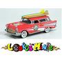 Johnny Lightning 1957 Chevy Nomad Surf Rods Lacrado 1:64 Original