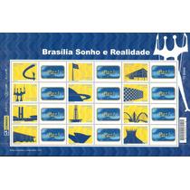 2010 - Folha Personalizados Brasília - Monumentos (mnh)
