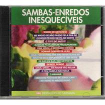 Cd Sambas Enredos Inesquecíveis