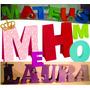 Alfabeto Letras 2d Festas Aniversário Molde Silhouete Cameo