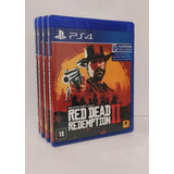 Jogo Red Dead Redemption 2 Ps4 Mídia Fisica+brinde Promoção