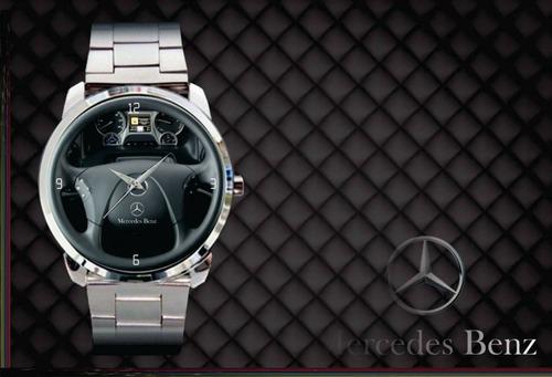 1d381939810 Relógio De Pulso Personalizado Painel Mercedes Benz Top - R  84 en ...