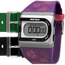 Relógio Mormaii Feminino Troca Pulseiras Acquarela Fzac/8k