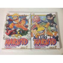 Mangá Naruto Gold - Volumes 1 E 2 - Lacrado