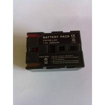 Bateria Para Filmadora Samsung Sb-l220 7.4v = 2600mah