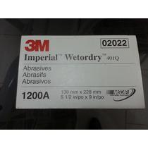 50 Lixas D´agua 3m Importada U.s.a Numero 1200 Polimento 3m