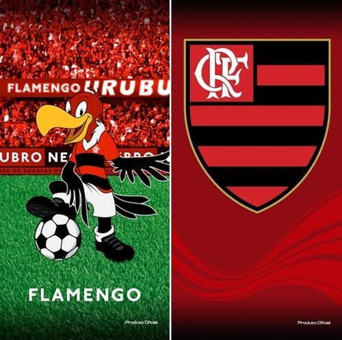 ea5d16ff56 02 Toalhas Banho praia Futebol Flamengo Oficial. R  129