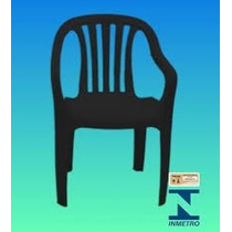 Cadeira Poltrona De Plastico Super Resistente Coloridas