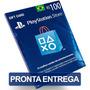 Cartão 100 Reais Psn Plus Playstation Br Brasileira Brasil