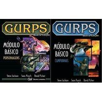 Gurps Modulo Básico Campanhas + Personagens 2 Livros