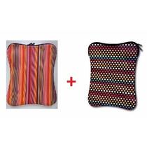 Kit 2 Capas Case Neoprene Para Notebook 14 Polegadas -oferta