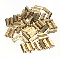 Espaçadores Placa Mãe Femea X Femea Hex M3 Pcb 10mm