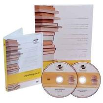 Curso Língua Portuguesa Iv - Dvd Vídeoaulas + Livro