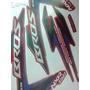 Adesivo Moto Nxr Bros 150 Es Verm 2012 Completa Frete Gratis