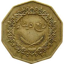 Líbia - 1/4 Dinar 2002