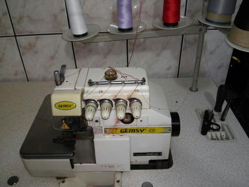 Maquina De Costura Interlok Gemsy