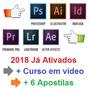 Adobe Premiere Photshop Illustrator Lightoom + 41.000 Preset