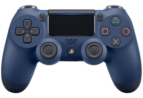 Controle Joystick  Sem Fio Sony Dualshock 4 Midnight Blue