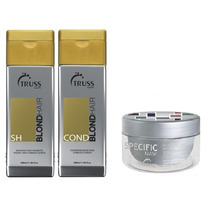 Truss Specific Blond Hair Shampoo + Cond. + Mascara Specific