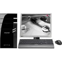 Micro Computador Core 2 Duo Hd 160 Dvd Completo 12x S/ Juros