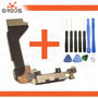 Cabo Flex Dock Conector Carga Iphone 4 Microfone + Chaves