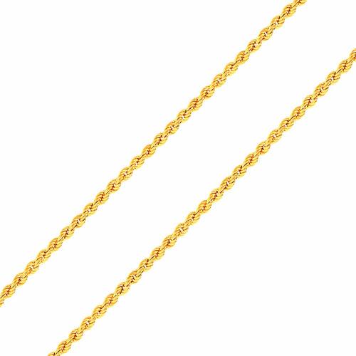 602409a7157 Corrente De Ouro 18k Feminina - Cordão Baiano 40cm