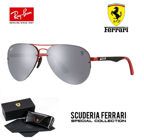 634bf 965b1  clearance ray ban aviador tech flip out rb3460 ferrari carbono  brinde e33f3 00e53 ba1b14f866
