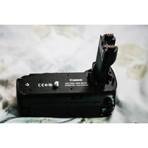Battery Grip Canon Bg-e7 Para Canon Eos 7d Original + 02 Bat