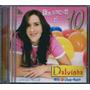 Cd Dalvinha - Eu Quero É 10 [bônus Playback] Infantil