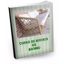 Curso Fabricação De Móveis De Bambu