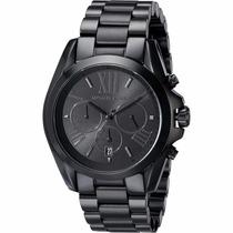 Relógio Michael Kors Mk5550 Preto Unissex Com Caixa Em 12x.