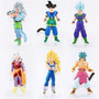 Kit 6 Bonecos Dragon Ball Z Kaioshin - Figures Goku 13cm
