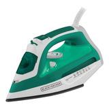Ferro A Vapor Black+decker Aj3030 Branco E Verde 110v