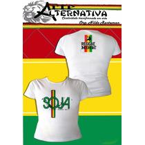 Blusas De Reggae Soja